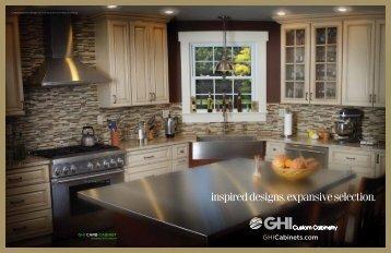GHI Custom Cabinetry Brochure - Grossman's Bargain Outlet
