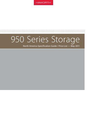 950 Series Storage - Haworth