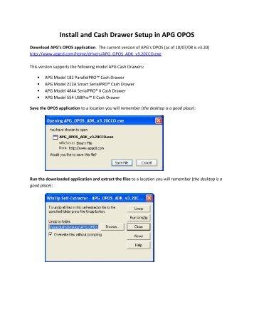Wincor nixdorf opos driver download - gheracprivjohn