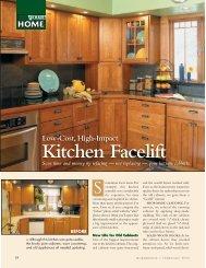 Kitchen Facelift - Woodsmith Woodworking Seminars