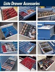 Lista Drawer Accessories - Swiss Instruments Ltd