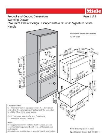 miele warming drawer instructions