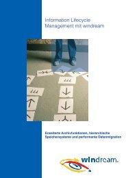 windream Information Lifecycle Management - Pentag Informatik AG