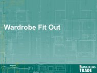 Wardrobe Fit Out - Whole of House - Bunnings