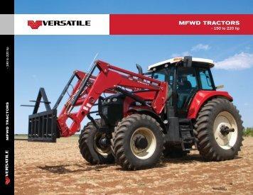 MFWD TracTors - Versatile