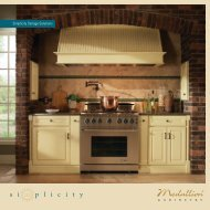 Simplicity Storage Solutions - Medallion Cabinetry