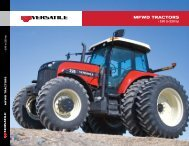 Spec Sheet - 190-220 hp - Versatile