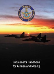 Pensioners Handbook (Oct 11) - Indian Airforce