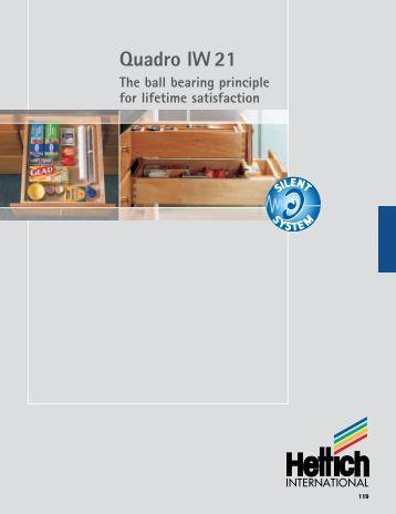Quadro IW 21 brochure - Hettich