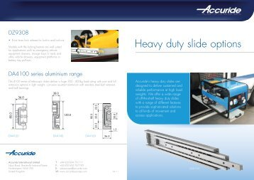 5321EC cross section - Accuride Drawer Slides