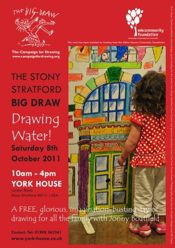 Drawing Water! - York House Centre
