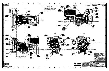 Installation Drawings (QSX15 Workover Rig Package