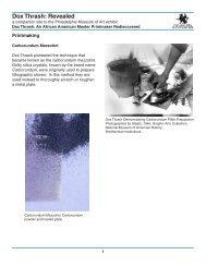 Carborundum Mezzotint - Philadelphia Museum of Art