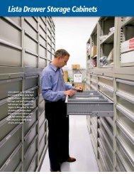 Lista Drawer Storage Cabinets