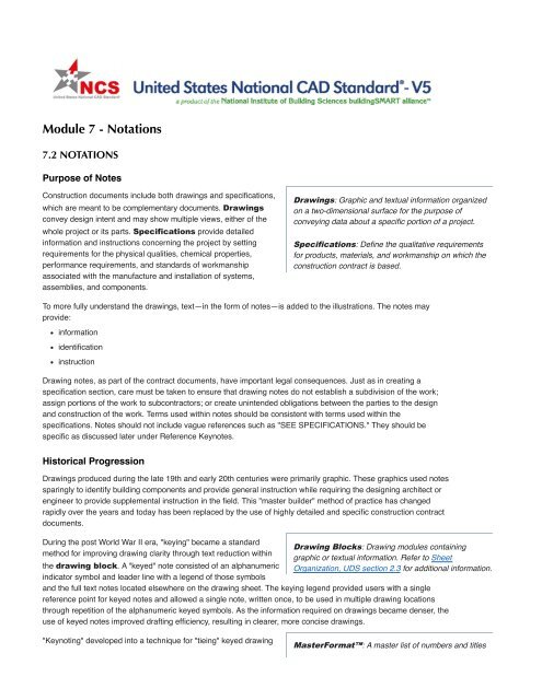 United States National Cad Standard V5 Uniform Drawing System