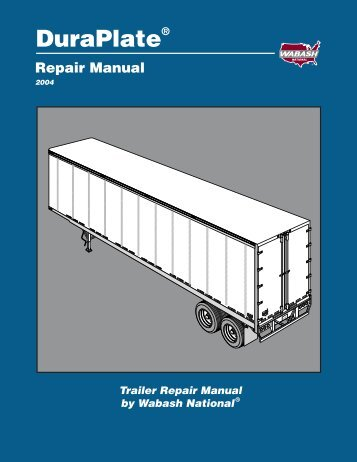 DuraPlate Repair Manual - Wabash National Corporation