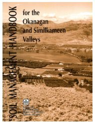 Soil Management Handbook - Ministry of Agriculture and Lands
