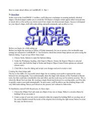 How to create chisel effects in CorelDRAW 11: Part 1 By Steve Bain ...