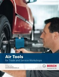 Air Tools - Bosch Production Tools