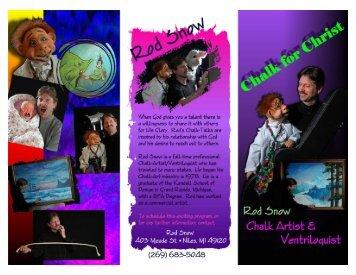 Brochure - Chalk For Christ
