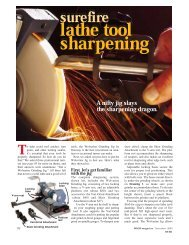 Sharpening with Jigs