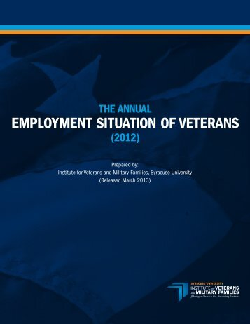 EMPLOYMENT SITUATION OF VETERANS