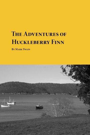 The Adventures of Huckleberry Finn - Planet eBook