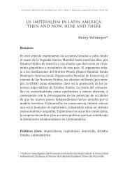 us imperialism in latin america - Unidad Académica en Estudios del ...