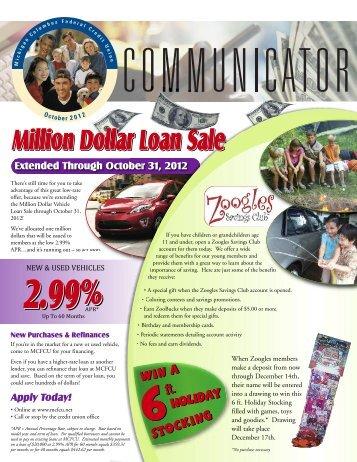 October 2012 - Michigan Columbus Credit Union