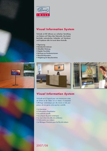 2007/08 Visual Information System Visual ... - Perrot Image SA