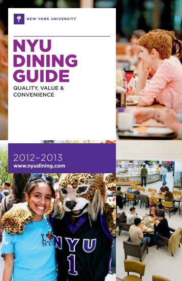 2012-2013 Meal Plan Brochure - CampusDish