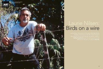 Laurie Nilsen: Birds on a wire - Australian Art Collector