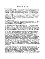 Batavus M48 Tech Notes [3 MB] - Project Moped Manual