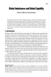 Global Imbalances and Global Liquidity - Socrates - University of ...