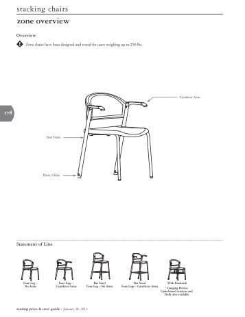 seating Pricing - Teknion