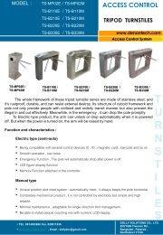 ts-b220 tripod turnstiles - Products