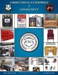 Correctional Enterprises of Connecticut Product Catalog - CT.gov