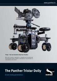 The Panther Tristar Dolly - Video Cine Import
