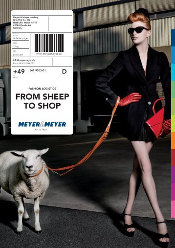 FROM SHEEP TO SHOP - Meyer & Meyer