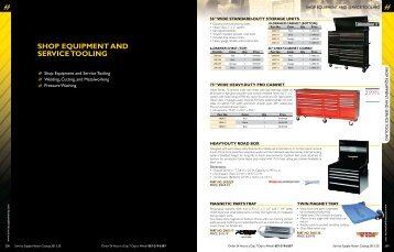shop equipment and serVice tooLing - Service Supply America