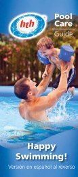 Happy Swimming! - HTH® : Pool & Spa Care Products