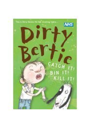 Dirty Bertie Comic - EMS Solutions
