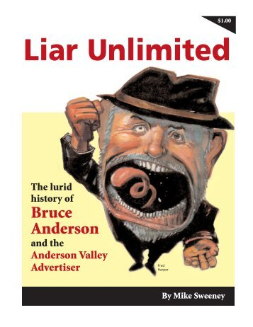 Bruce Anderson - Liar Unlimited