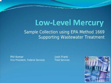 Low-Level Mercury