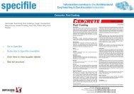 Cemcrete - Pool Coating Datasheet