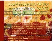 Low-Frequency, All-Sky Imaging with the PAPER Array Using AIPY