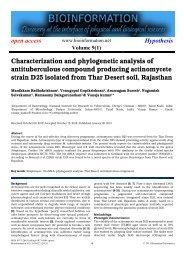 PDF - Bioinformation