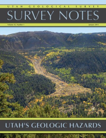 read this issue - Utah Geological Survey - Utah.gov