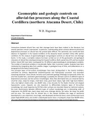 Geomorphic and geologic controls on alluvial-fan processes ... - Igitur