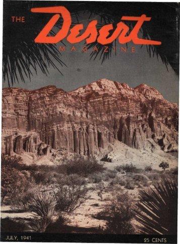 194107-DesertMagazin.. - Desert Magazine of the Southwest